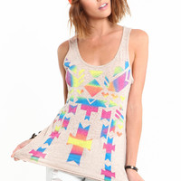 PRISM TRIBAL TANK TOP