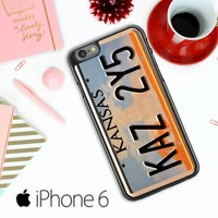 Supernatural License Plate X0204 iPhone 6 / 6S Case