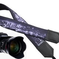 New York camera strap. Skyline camera strap. DSLR / SLR Camera Strap. Gift For Photographer. Fashion accessories by InTePro