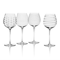 Mikasa Cheers White Wine Glasses, Set of 4
