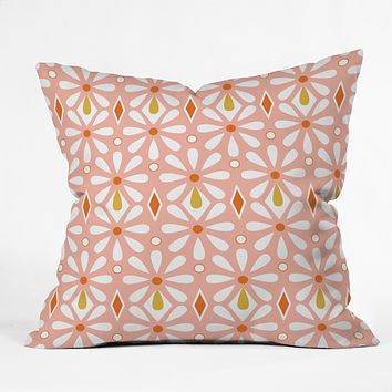 Heather Dutton Fleurette Radiant Outdoor Throw Pillow