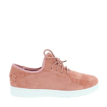 Suede Casual Lace Up Sneakers