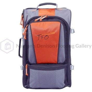 TFO Rolling Carry On Fly Fishing Luggage 21 x 12 x 11