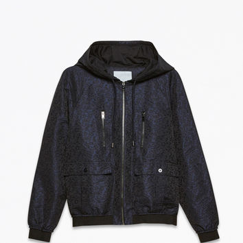 HONEYCOMB MEMORY NYLON JACKET