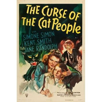 The Curse Of The Cat People Vintage Movie Poster