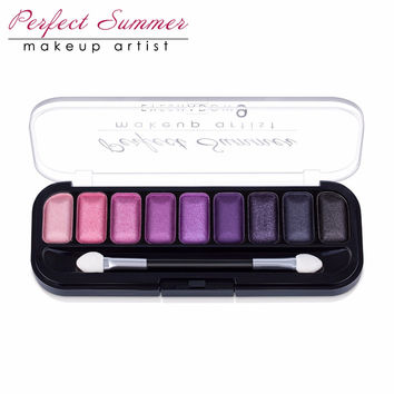 Perfect Summer Eye Shadow 9Color Palette Makeup Eye Shadow Kit  Long Lasting Eye Shadow Beauty Makeup Popular Choice