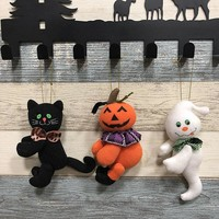 Plush Pumpkin Cute Dolls Children Toy Halloween Birthday Gift Pumpkin Girl Dolls Home Decor dropshipping Hallowee Ornaments fkk4