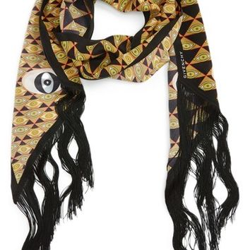 Givenchy 'Pyramid Eyes' Silk Scarf | Nordstrom