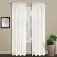 United Curtain Co. Sterling Window Panel - 40'' x 84''