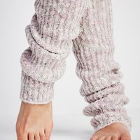Free People Bowery Ribbed Over The Knee Legwarmer