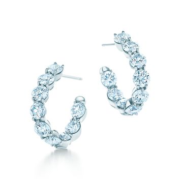 Tiffany & Co. - Inside-out Hoop Earrings