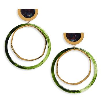 Loren Olivia Drop Hoop Earrings (Nordstrom Exclusive) | Nordstrom