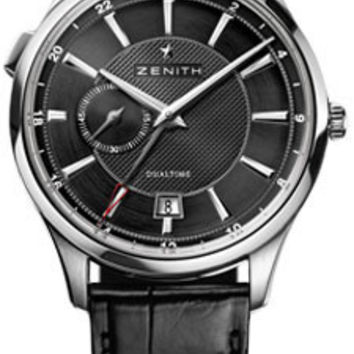 Zenith - Elite Captain Dual Time Stainless Steel #03.2130.682/22.C493