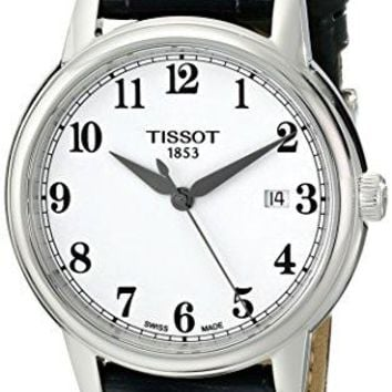Tissot Men's T0854101601200 Carson Analog Display Swiss Quartz Black Watch