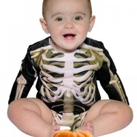 "INFANT ""SKELETON"" Onesuit (BLACK)"