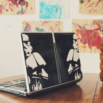 """Star Wars Stormtrooper - Macbook Pro Decals, available for Retina, Air, and PC models in (11"""" 13"""" 15"""" 17"""")"""