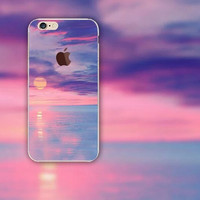 Beautiful Sunset iPhone 5S 6 6S Plus creative case + Gift Box-126