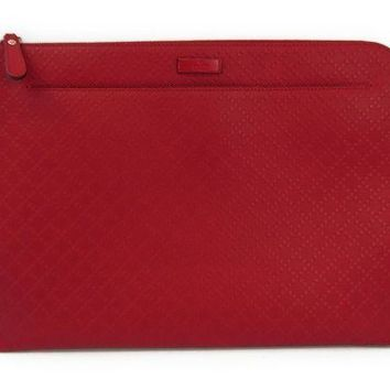 DCCKNY1 Gucci Diamante 368564 Women's Leather Document Case,Clutch Bag Red BF312201