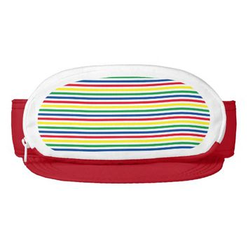 Carnival Stripes Visor
