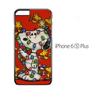Snoopy Decorate Christmas iPhone 6s Plus Case