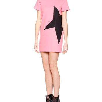 Side-Star Shift Dress, Size: