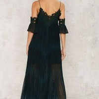 Nasty Gal Snake What's Yours Maxi Dress