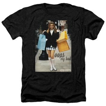 Clueless Heather T-Shirt Cher Oops My Bad Black Tee