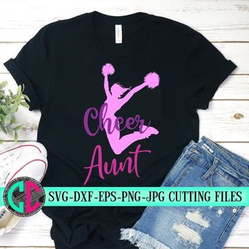 Pom poms svg, cheerleader svg, cheer aunt svg, cheerleader svg, football pompom SVG, cheerleader cut file,Football aunt SVG, svg for cricut