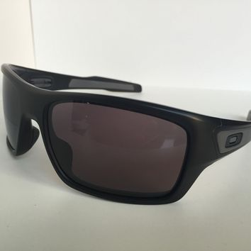 Oakley TURBINE OO9263-01 65mm Matte Black Men's Sunglasses