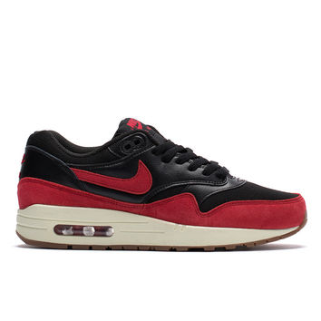 WMNS Air Max 1 Essential (Black/ Gym Red)