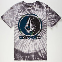 Volcom Bleedy Circle Mens T-Shirt Black  In Sizes