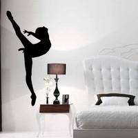 Ballet Ballerina Dancer Dancing Girl Vinyl Wall Art Sticker Decal Room Decor