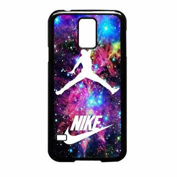 Michael Jordan On Galaxy Nebula New Custom Samsung Galaxy S5 Case