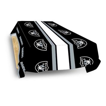 Reusable Vinyl RAIDERS TABLE COVER #7823222