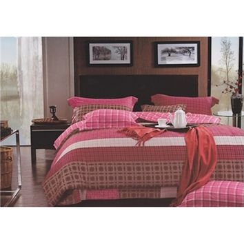 Urban Plaid Twin XL College Dorm Room Comforter Set