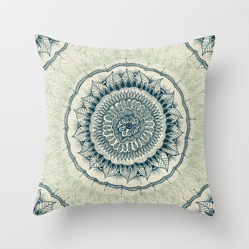Mindfulness Throw Pillow by Rskinner1122