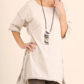 Fringe Tunic Top