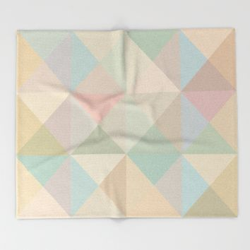 The Nordic Way XIV Throw Blanket by Metron