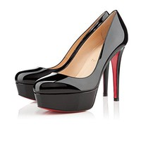Christian, louboutin Sarah Pereira Womens Thick Base and High Fashion Heels