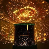 Valentine's Day Gift LED Lights Highlight Star Projector Lamps