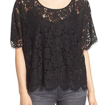 Plenty by Tracy Reese Lace Tee | Nordstrom