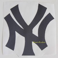 NEW YORK YANKEES NY AUTHENTIC JERSEY PATCH NY