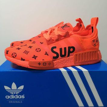 DCCKD9A Supreme x Adidas NMD Boost - Orange