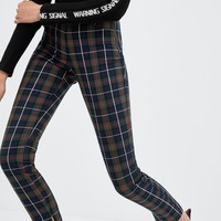 CHECK SKINNY TROUSERS - NEW IN-TRF | ZARA United States
