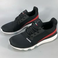 FILA 2018 new summer men's shoes light breathable running casual training shoes F-CSXY black