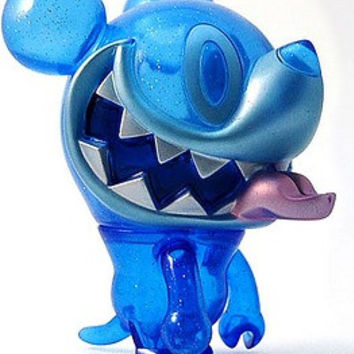 "Touma Toumart Crazy Kazu Mouse Clear Night Sky Blue Ver 5"" Soft Vinyl Figure"