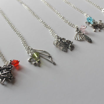 Teen Wolf inspired Character Necklaces