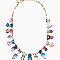 color crush statement necklace