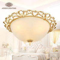 2016 New Arrival Hot sale ceiling lights genuine alloy vintage ceiling lamp handmade golden high quality novelty ceiling light