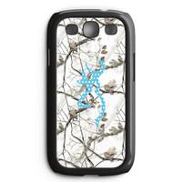 Browning Turquoise Chevron Samsung Galaxy S3 Case